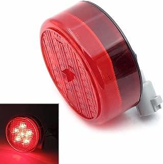 HonsCreat LED Tail Light Rear Lamp Replacement For Kawasaki Teryx Teryx4 2012 2013 2014 2015 2016 (red)