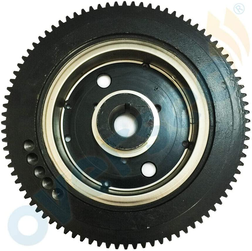 Ranking TOP16 Spare Parts for Outboard Finally popular brand 40XMH E40X Engine66T-85550-10 Flywheel
