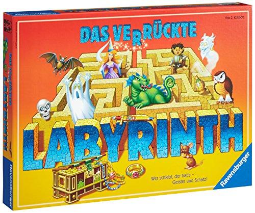 Ravensburger Spiele 26446 - Das verrückte Labyrinth 26446 - Familienspiel ab 7 Jahren