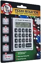 Trademark Texas Hold'em Pre-Flop Winning Odds Calculator (Silver)