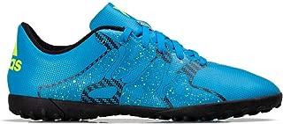 Kids Boys Junior X 15.4 Football Astro Turf Boots Soccer Trainers Blue