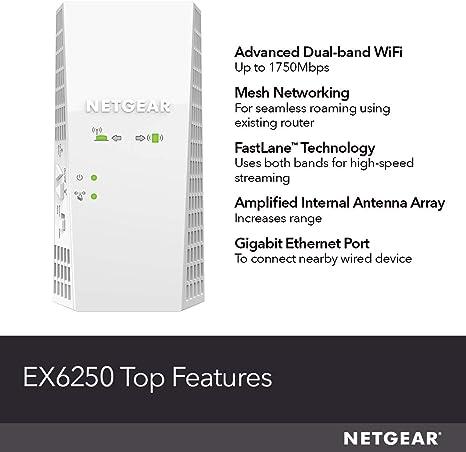 Electronics Repeaters Renewed NETGEAR Wi-Fi Mesh Range Extender ...