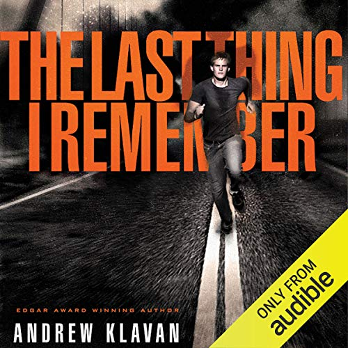 The Last Thing I Remember  By  cover art