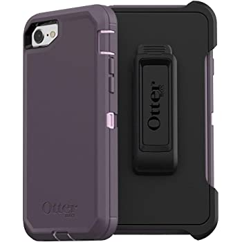 OtterBox DEFENDER SERIES Case for iPhone 8/7 (NOT PLUS) - Retail Packaging - PURPLE NEBULA (WINSOME ORCHID/NIGHT PURPLE)