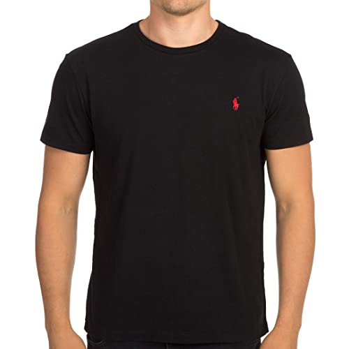 Polo Ralph Lauren Mens Pony Logo Crew Neck T-Shirt