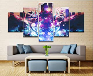 WEMUR Pintura Impresa de la Lona de la animación de 5 Paneles para la decoración de la Pared de la Sala Cartel de la Imagen al por Mayor, Framed 40X60 40X80 40X100cm
