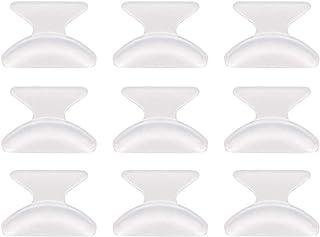 Protezione autoadesiva in Silicone Trasparente Androxeda Ponte nasale antiappannamento 6Pcs per Evitare lappannamento degli Occhiali Strato Protettivo Morbido e Confortevole