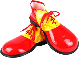 Unisex Adult Jumbo Large Clown Shoes Halloween Costumes Accessories
