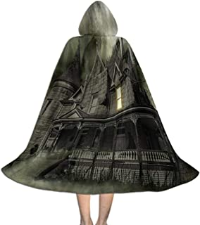 Kids Cloak Cape with Hooded, for Cosplay Costumes Halloween Decoration