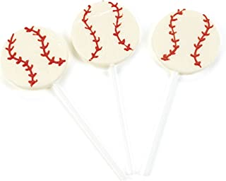 Baseball Sucker Lollipops (1 dz)