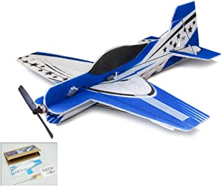 Dancing Wings Hobby E0101 RC Plane 4CH Radio Remote Controlled Electronic Aircraft Blue 3D Sakura Wingspan 417mm EPO Micro Airplane Model kit