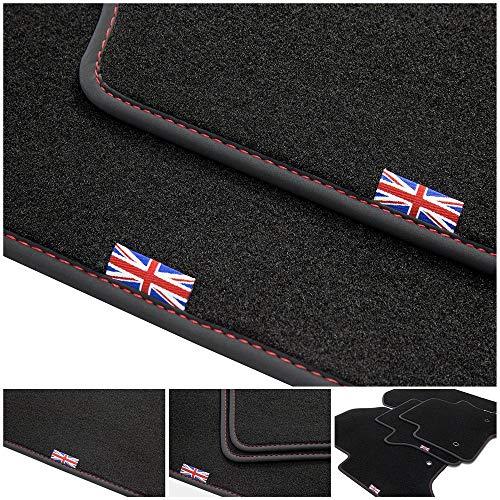 tuning-art D201 Fußmatten Union Jack für Mini II 2 R56 2006-2014
