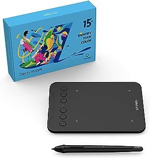 XP-Pen ペンタブ Decoシリーズ 4x3インチ カスタマイズ エクスプレスキー6個 XP-Pen15周年記念スペシャルDeco mini4 限定セット