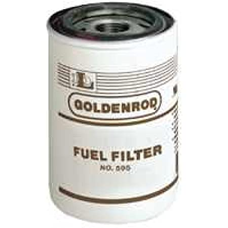 Amazon.com: Goldenrod 595-5 Standard Spin-On Fuel Filter: Automotive   Spin On Fuel Filter      Amazon.com