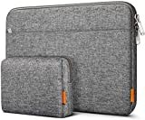 Inateck Laptop Sleeve Case Compatible 12.3-13 Inch Laptops 13 Inch New MacBook Pro 2016-2020 Retina/MacBook Air 2019-2020/12.3 Inch Surface Pro X/7/6/5/4 - Gray