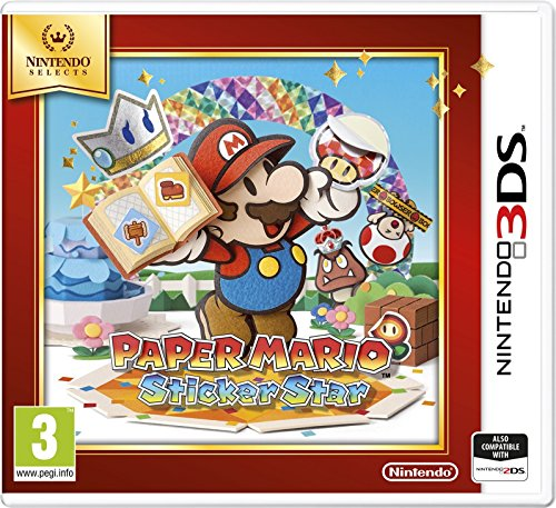 Paper Mario : Sticker Star 3Ds- Nintendo 3Ds