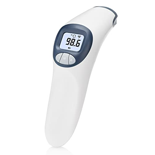 MeasuPro Digital Non-Contact Forehead Thermometer for Babies, Toddlers, and Adults, Fever