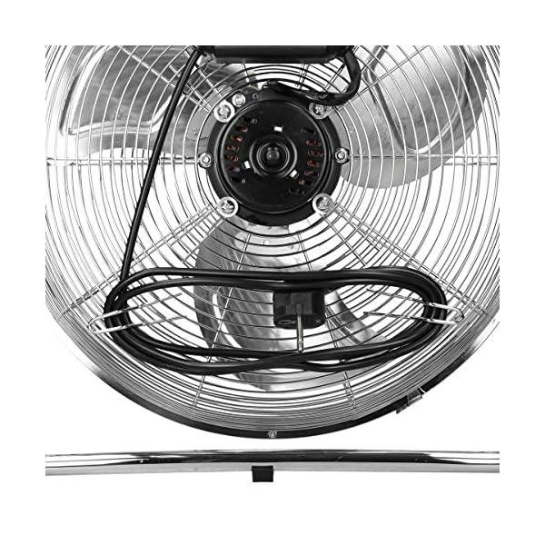 ECD-Germany-Ventilador-de-Suelo-65W-3-velocidades-Enfriador-de-Aire-Sobremesa-14-Pulgadas-34-cm-Plata-Cromada-Mquina-de-Viento-Industrial-360-Inclinable-Giratorio-Silencioso-para-Hbitaciones
