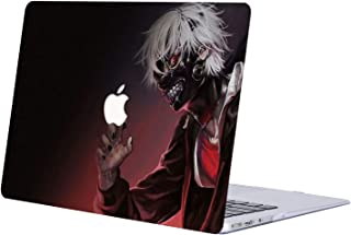 MacBook Pro 13 Case 2019 2018 2017 2016 Release A2159/A1989/A1706/A1708, AJYX Anime Pattern Plastic Hard Shell Cover for Newest MacBook Pro 13 Inch with/Without Touch Bar - JR156 Tokyo Ghoul