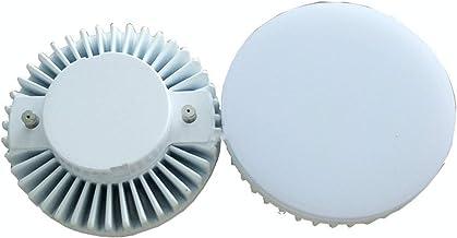 Led gloeilampen 2 Stks LED 5W GX53 Decoratieve Licht Melkachtig Witte Hood Wit Plastic Case Aluminium Base 5W GX53 Verlich...