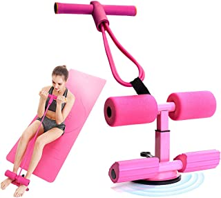 Sit Up Bar for Floor,GoorangeSy Sit Up Assistant Device with Resistance Band,for Exercising Abdominal Muscles Full Body Tr...