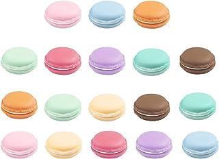 JER 1 PCS Portable Creative Mini Macaron Shaped Bo/îte de Rangement Bonbons Bijoux Organisateur Pill Case Container Couleur al/éatoire Produits pour Maison//Cuisine