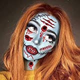 Zoom IMG-1 kateluo halloween tatuaggi di faccia