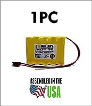 850.0035-850.0035 Emergi-Lite/Kaufel Replacement Battery