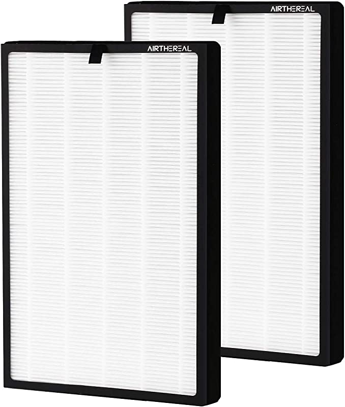 Airthereal Pure Morning APH260 Air Purifier Replacement Filter Set 7 In 1 True HEPA Technology Integrated With Pre Filter True HEPA Filter And Activated Carbon Filter 2 Packs