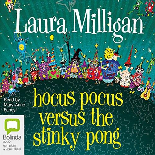 Hocus Pocus Versus the Stinky Pong audiobook cover art