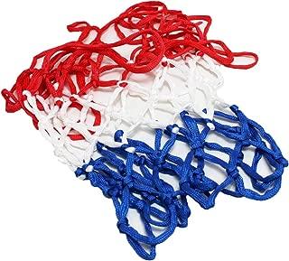 Lodou Filet de Basket-Ball Lumineux en Plein air Portable aliment/é par Le Soleil de Sport en Nylon Lumineux Filet de Basket-Ball pour Enfants gar/çons Sports de Plein air Piscine /à l/école
