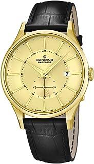 Candino C4559/2 - Reloj de Pulsera Hombre, Cuero, Color
