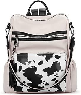 Backpack Purse for Women Fashion Leather Designer Travel Large Ladies Shoulder Bags with Tassel