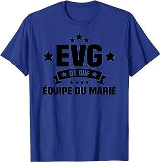 Homme Team EVG - Cadeau EVG humour - EVG de ouf - équipe du marié T-Shirt