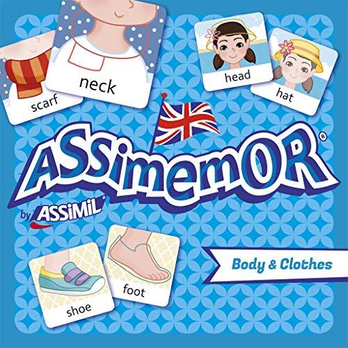 Assimemor Body & Clothes: Das kinderleichte Englisch-Gedächtnisspiel von ASSiMiL