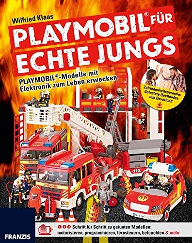PLAYMOBIL® für echte Jungs: PLAYMOBIL®-Modelle mit Elektronik zum Leben erwecken