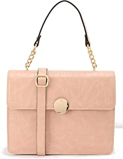 Pink Defacto Faux Leather Handbag