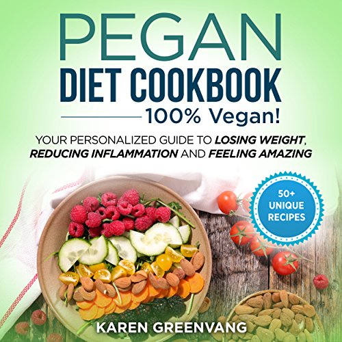 Pegan Diet Cookbook audiobook cover art