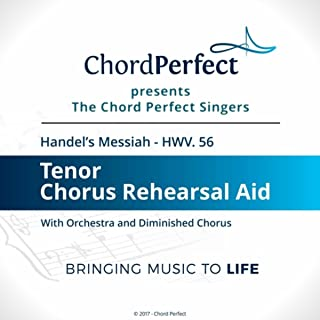 Handel's Messiah - HWV 56 - Tenor Chorus Rehearsal Aid