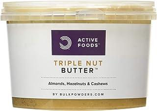 Bulk Triple Nut Butter, Amandes, Noisettes, Cajou, 500 g