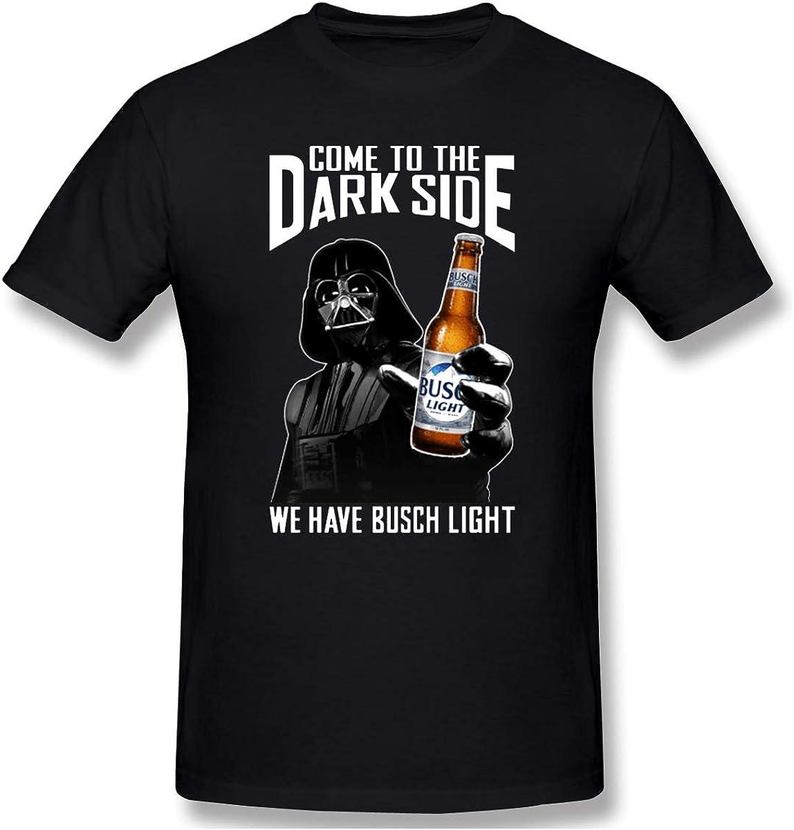 Brew City Beer Gear Busch Light Full Logo Short Sleeve T-Shirt