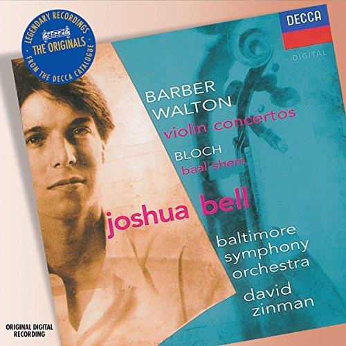 Barber / Walton: Violin Concertos; Bloch: Baal Shem ~ Bell