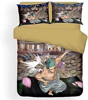 XLLJA påslakan 2 kuddöverdrag, bomull tecknad serie sängkläder-set, påslakan och 2 kuddöverdrag, barnrum, gästrum, fritids...