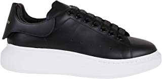 Luxury Fashion   Alexander Mcqueen Men 625161WHYB91357 Black Leather Sneakers   Autumn-winter 20