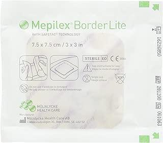 Molynlycke 7332430527745 -Mepilex Border Lite - 3x3 - Box of 5, Na