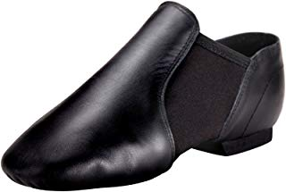 Linodes Leather Jazz Shoe Slip On for Girls and Boys...