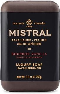 Mistral Bar Soap Organic, Bourbon Vanilla, Large