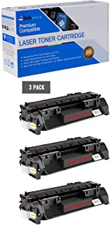 Inksters Compatible Toner Cartridge Replacement for HP 80A (CF280A) Black - Compatible with Laserjet Pro 400 M401A M401D M401DN M401DW M401N M425DN M425DW (3 Pack)