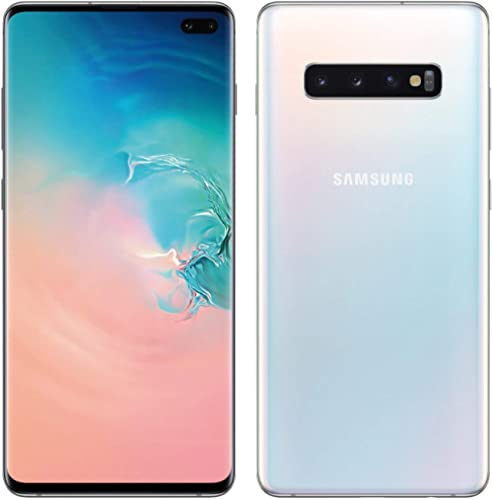 "Samsung Galaxy S10+ Plus 128GB+8GB RAM SM-G975F/DS Dual Sim 6.4"" LTE Factory Unlocked Smartphone International Model ..."