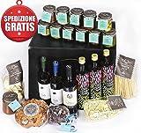 """Geschenkkorb italienisch """"Weihnachten Extra Luxus"""" mit 23 gourmet italienischen Spezialitäten fur Weihnachten von Bauernhof Cuvea"""